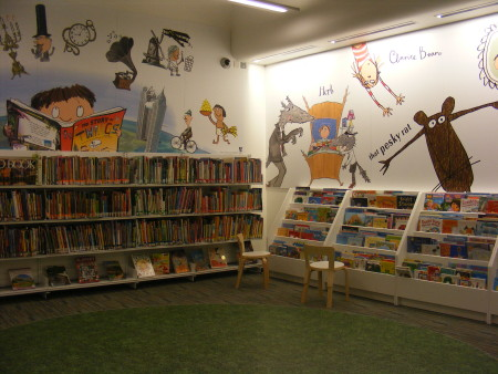 Children's section, John Harvard Library