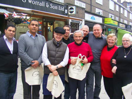 Some of the Great Suffolk Street shopkeepers