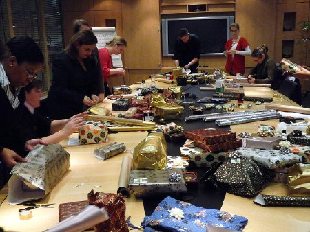 Nearly 500 gifts for local people donated by London Bridge businesses