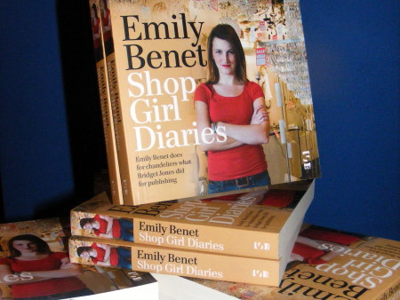 Shop Girl Diaries by Emily Benet