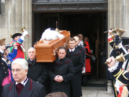 Funeral of Peter Moore