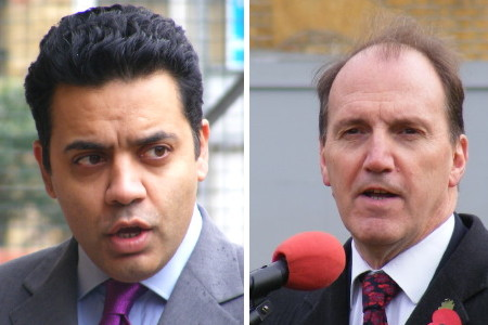 Shahid Malik MP and Simon Hughes MP