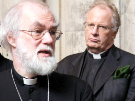 Rowan Williams and Colin Slee