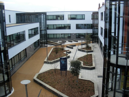 The new Walworth Academy buildings
