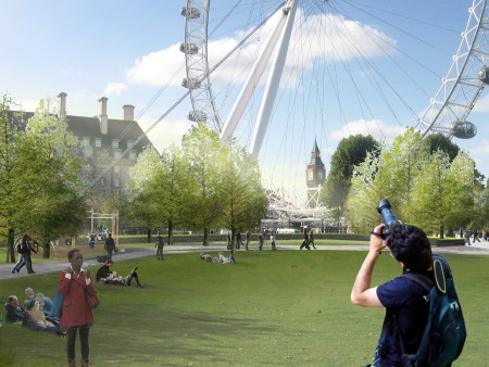 Stalled Jubilee Gardens revamp gets £1.5 million from Transport for London