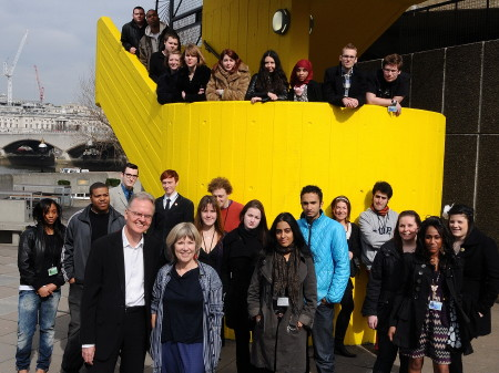 30 young people employed at Southbank Centre thanks to Future Jobs Fund