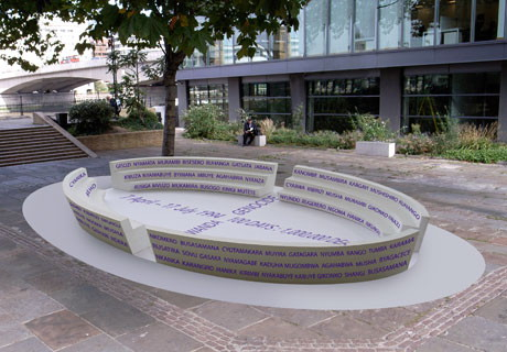 Rwanda genocide memorial planned for Bankside's Cathedral Square