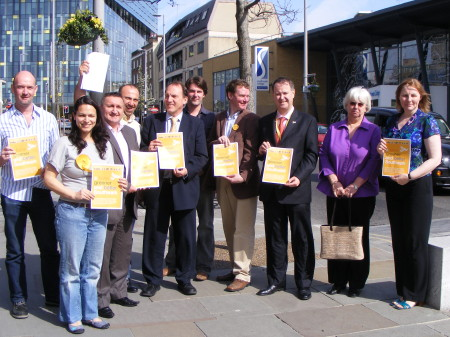 Southwark Lib Dems in the Cut
