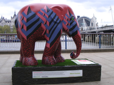 The Elephant Parade arrives in SE1