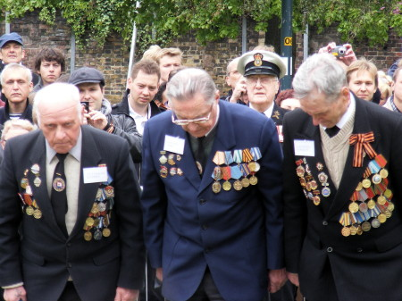 65 years on: Victory Day celebrations at Southwark's Soviet War Memorial