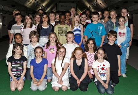 100+ Lambeth and Southwark children audition for The Railway Children at Waterloo