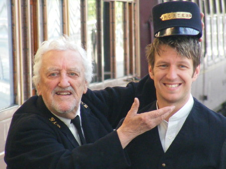 Bernard Cribbins and Marshall Lancaster
