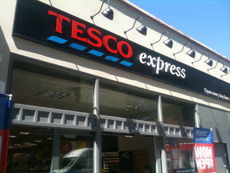 tesco express store. Black Bedroom Furniture Sets. Home Design Ideas