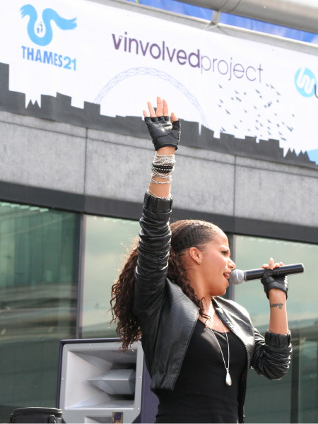 Ms Dynamite at The Scoop
