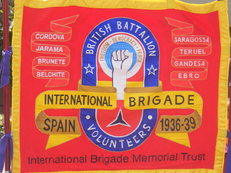 Spanish Civil War's British volunteers honoured at Jubilee Gardens memorial