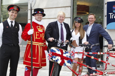 Boris Johnson opens Travelodge in Waterloo Road
