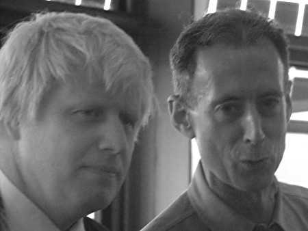 Boris Johnson Peter Tatchell