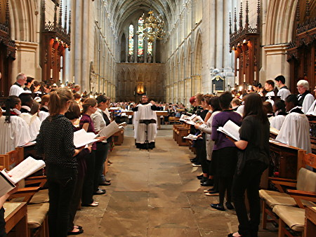 Southwark Cathedral girls' choir celebrates 10th anniversary