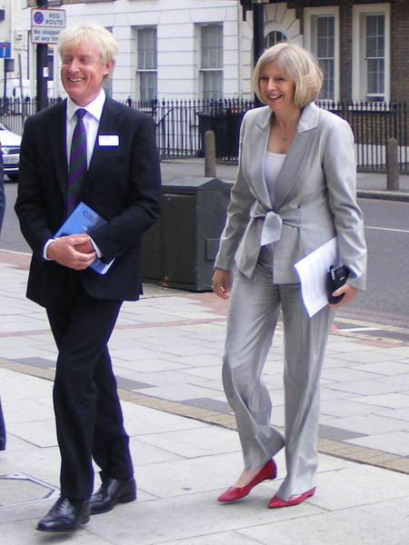 Iain Tuckett and Theresa May