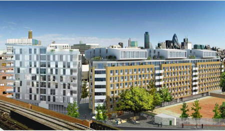 671-bed student residence in Great Suffolk Street: council lifts restrictions