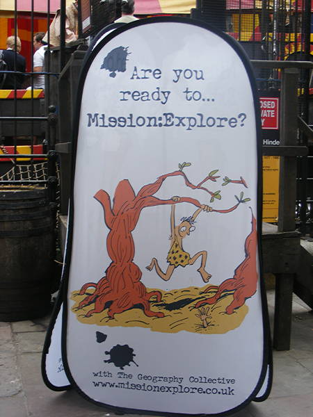 Guerrilla geographers launch Mission:Explore iPhone app at Golden Hinde