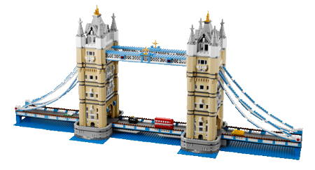 Build your own Tower Bridge with Lego's 4,287-piece kit
