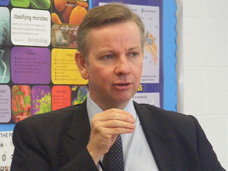 Michael Gove at Globe Academy