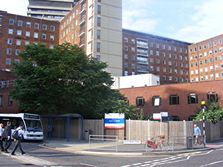 Site of the future cancer centre