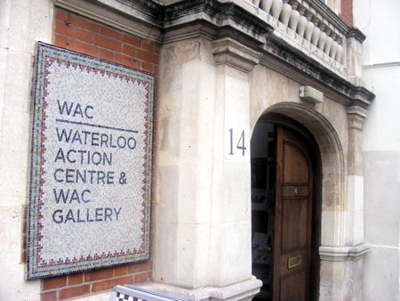 Mosaic sign unveiled at Waterloo Action Centre