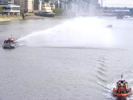 Emergency services to stage mock collision on River Thames