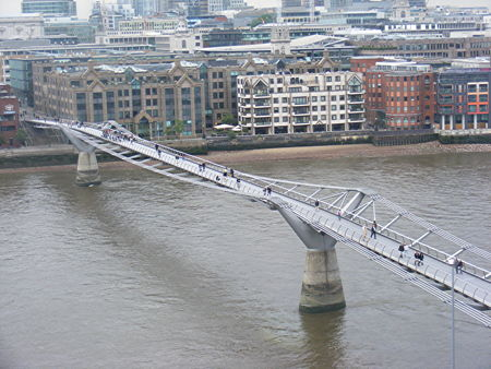 Millennium Bridge daytime closures this week
