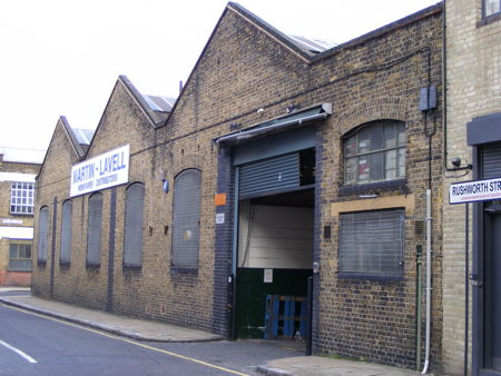 Martin Lavell's warehouse
