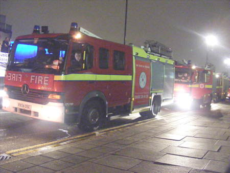 Fire union chief apologises to SE1 residents for noisy evening
