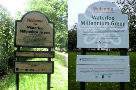 Could you help to shape the future of Waterloo Millennium Green?