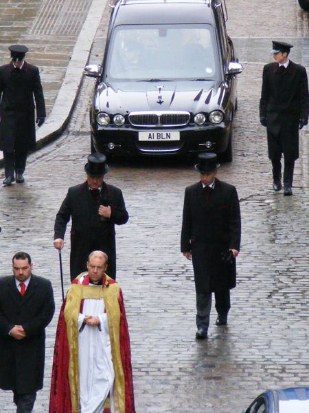 Funeral of Colin Slee at Southwark Cathedral