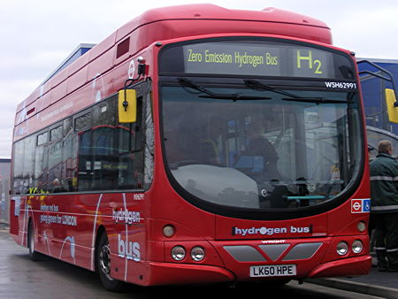 Hydrogen buses for Route RV1 unveiled by London's Deputy Mayor