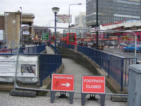 Elephant & Castle subways closed as surface-level crossings open