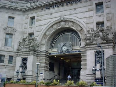 Victory Arch at Waterloo Station