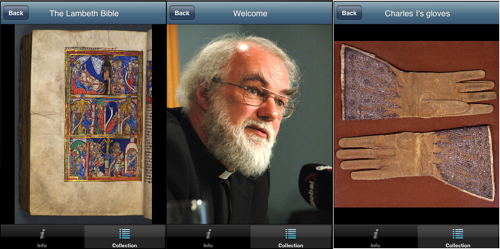 Lambeth Palace Library launches iPhone app