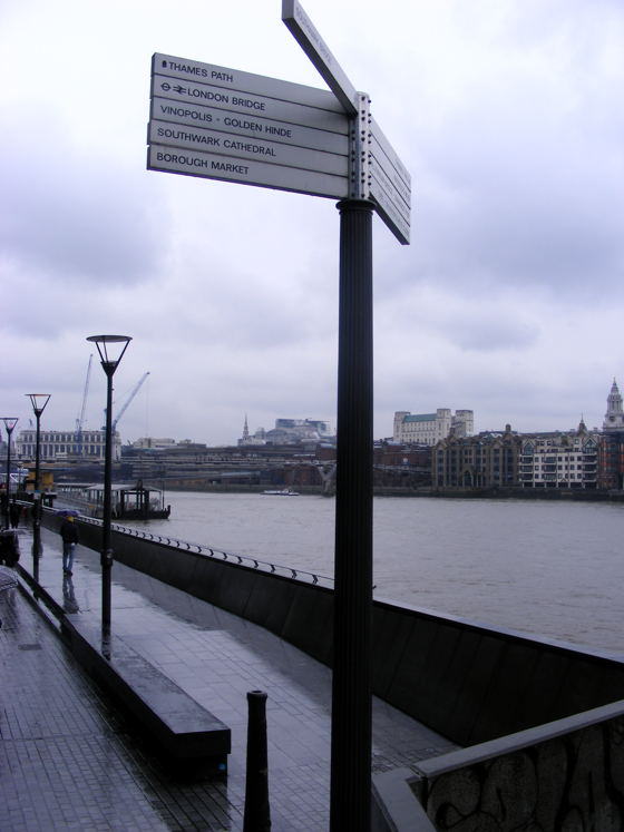 £4 million Olympic upgrade for Thames Path on South Bank and Bankside