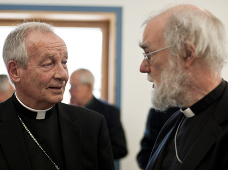 Most Revd Peter Smith; Most Revd Rowan Williams