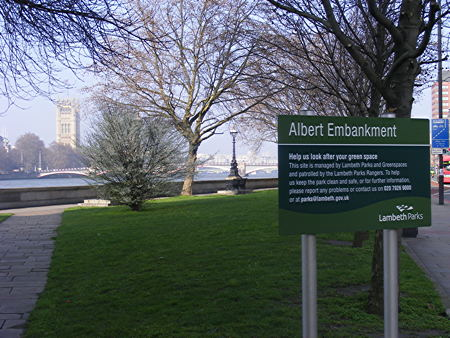 Albert Embankment Gardens