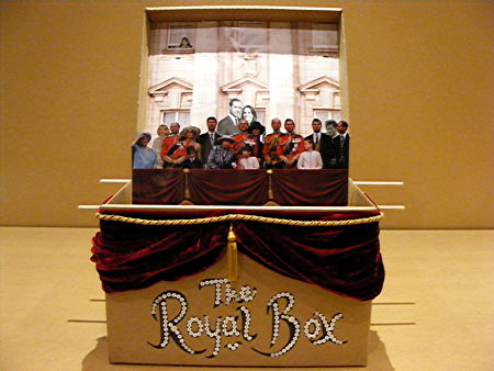 Royal Box up for auction