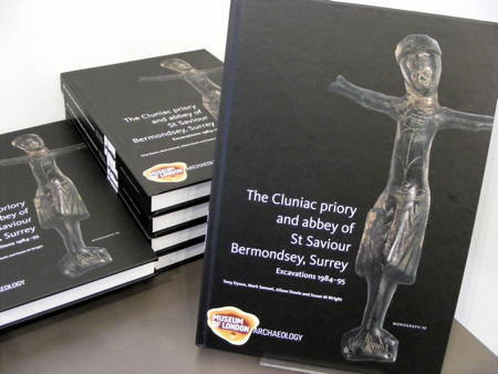 Bermondsey Abbey book launched at Woolfson & Tay