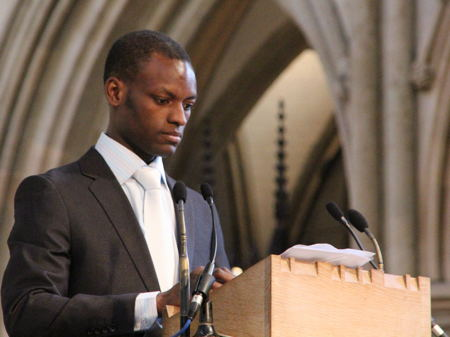 Cathedral packed for funeral of Mayor of Southwark Tayo Situ