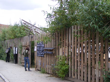 Union Street's Urban Physic Garden nears completion