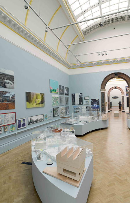 Shard on show in Royal Academy's Summer Exhibition