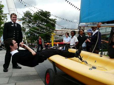 London Nautical School joins Festival of Britain celebrations
