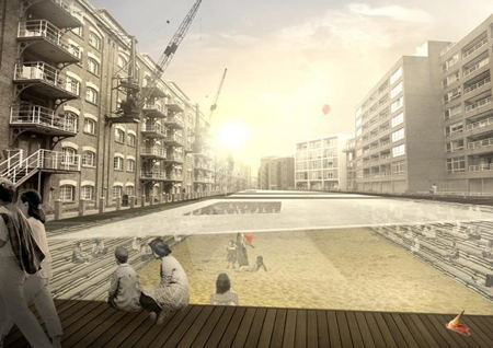 Fagin's Den: proposal to dam St Saviour's Dock shortlisted in design competition