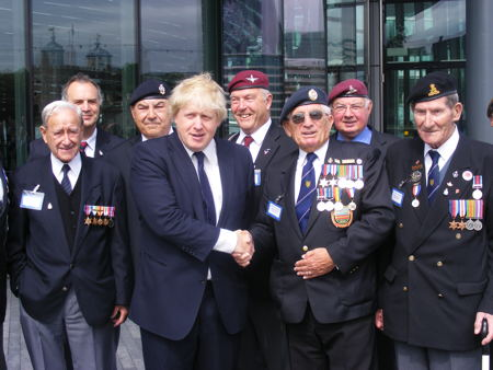 Nautical School pupils join Boris for Armed Forces Day flag ceremony